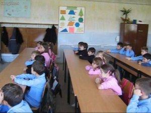 klassiruum õpilased lapsed koolis kool klass esireas tagareas