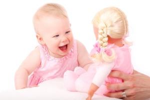 ajulained beebi tähelepanu mängimine
